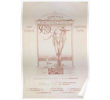 Concert et exposition serbe Poster