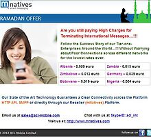 Bulk Sms Gateway offer by mnatives by mnatives