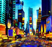 Times Square by Andrea Meyer