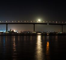 Coronado Bridge, San Diego, California. by Firesuite