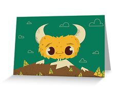 the Lost Monster Greeting Card