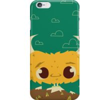 the Lost Monster iPhone Case/Skin