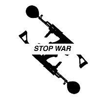 STOP WAR - b&w  Photographic Print