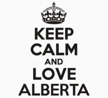 Keep Calm and Love ALBERTA Kids Clothes