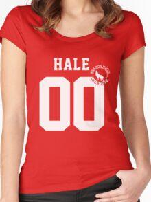 """Teen Wolf - """"HALE 00"""" Lacrosse  Women's Fitted Scoop T-Shirt"""
