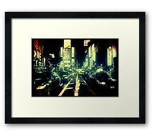 Times Square, New York Framed Print