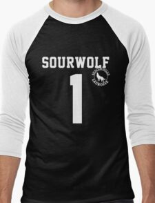 "Teen Wolf ""SOURWOLF 1"" Lacrosse Men's Baseball ¾ T-Shirt"
