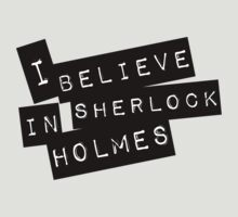 """I Believe"" in Sherlock Holmes by kinxx"