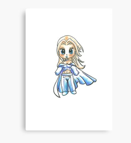 The White Whitch - Emma Frost Canvas Print