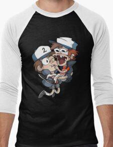 Gravity Falls - Tyrone+PJ Men's Baseball ¾ T-Shirt