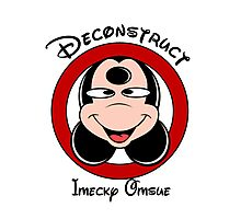 Deconstruct Mickey Photographic Print