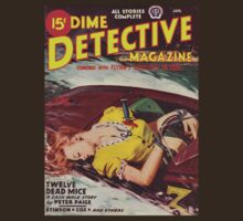 Dime Detective Magazine - January 1946 by perilpress