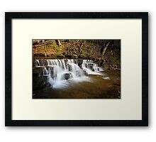 Scalebar Force waterfall, Yorkshire  Framed Print