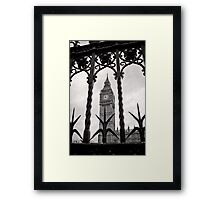 Keeping good time - Big Ben  - London - Britain Framed Print