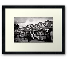 The Camden Market - Britain Framed Print