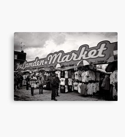 The Camden Market - Britain Canvas Print