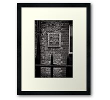 Charles Dickens lived here - Britain Framed Print