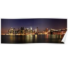 Manhattan Panoramic Poster