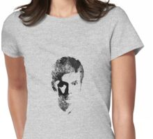10th Doctor, Spray Painted Womens Fitted T-Shirt