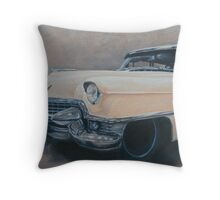 Cadillac study Throw Pillow