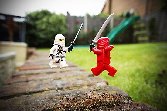 Miniature Ninja Showdown  by Amertastic