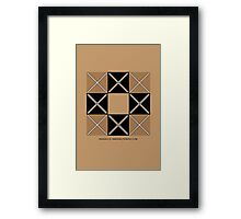 Design 219 Framed Print