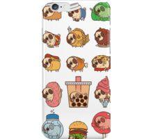 Pug Food iPhone Case/Skin