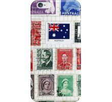 Stamps from Australia iPhone Case/Skin