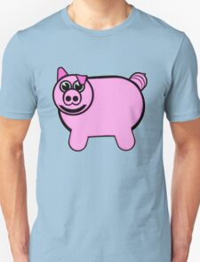 Stuffed Pig Unisex T-Shirt