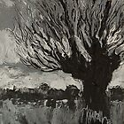 Knotwilg - Willow Tree Painting by Khairzul MG