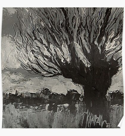 Knotwilg - Willow Tree Painting Poster