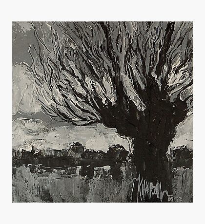Knotwilg - Willow Tree Painting Photographic Print