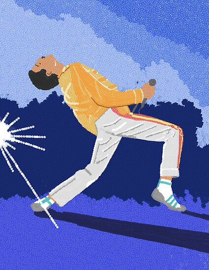 Freddie Mercury On Heat by adpalm