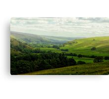 Mist in the Dale Canvas Print