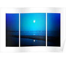 Moonlit La Tranche Sur Mer (Lomography) Poster