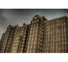 Abandoned Hospital Photographic Print