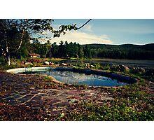 Abandoned Resort Photographic Print