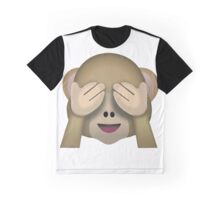 I cant see monkey emoji Graphic T-Shirt