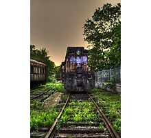 Abandoned Train Photographic Print