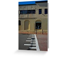 Crossing over-Windsor Greeting Card