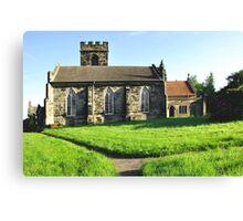 St Peter's Church, Hartshorne  Canvas Print