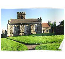 St Peter's Church, Hartshorne  Poster