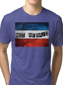 NOT AFRAID Tri-blend T-Shirt
