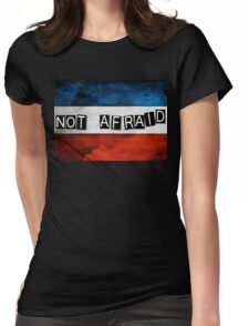 NOT AFRAID Womens Fitted T-Shirt