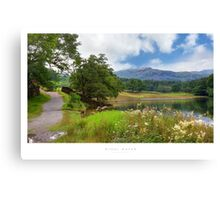 Rydal Water, Cumbria Canvas Print