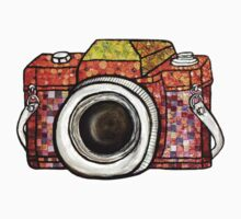 Patchwork Camera Kids Clothes