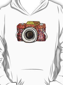 Patchwork Camera T-Shirt
