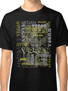 Vegan Type - Grunge Classic T-Shirt