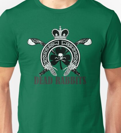 Dead Rabbits (Black and Whited Edition) Unisex T-Shirt