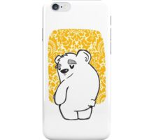 a Bear Sigh iPhone Case/Skin